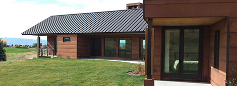 Standing Seam Metal Panels