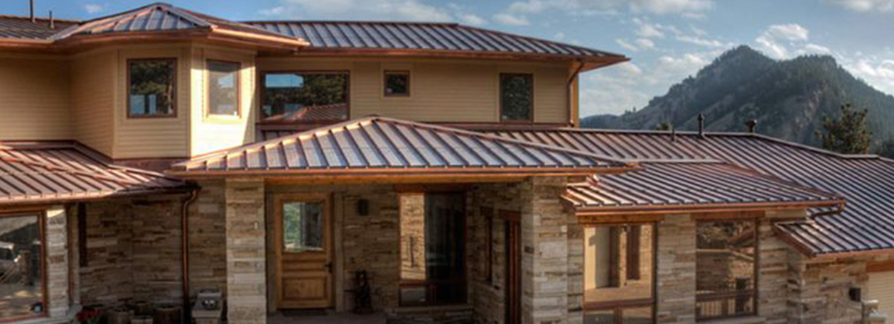 Copper Roofing, Wall Panels, Coil and Flats