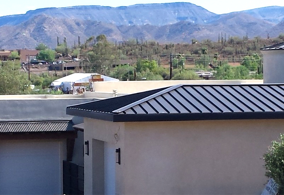 Western Lock Standing Seam Metal Roofing California